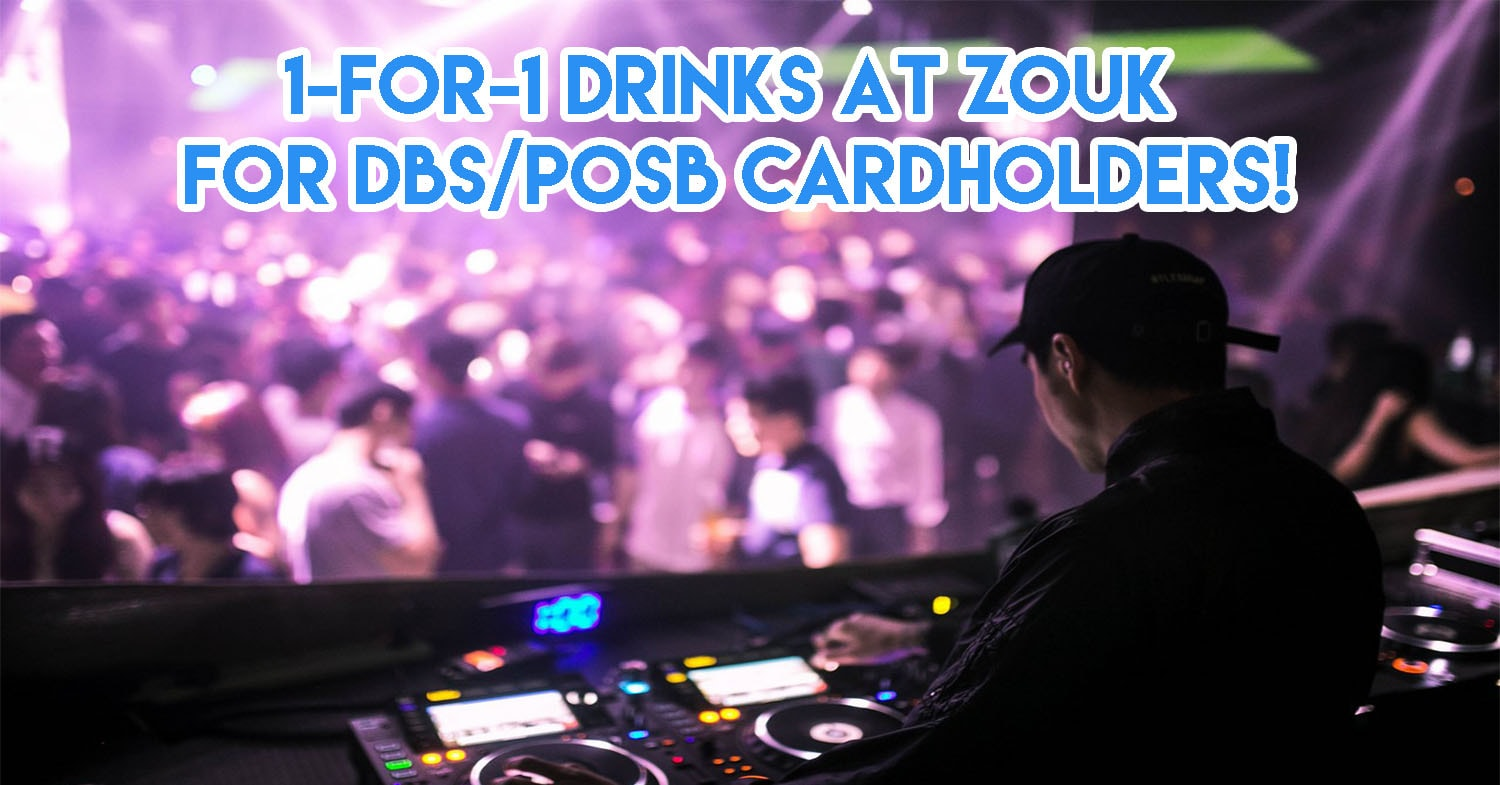 Here's How To Score 1-For-1 Drinks, Food Deals & Free Entry At The New Zouk