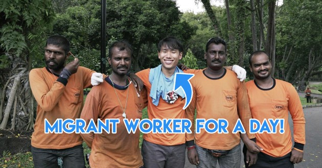 Migrant worker day in the life life swap grasscutting