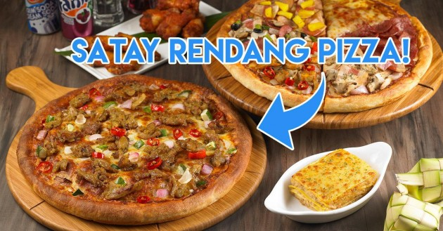 Pezzo Has A New Satay Rendang Pizza To Break Fast With This Ramadan