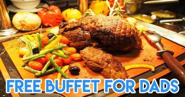 Free buffet for dads
