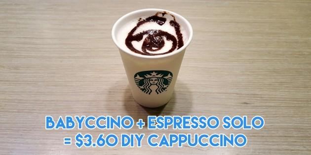 Cheap DIY Cappuccino Starbucks hack