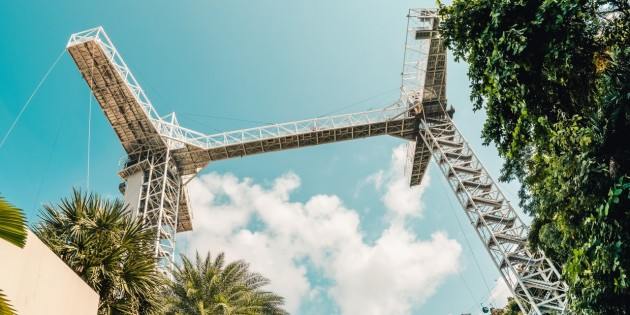 You Can Bungy Jump Off A 50m Tower Or Ride A Giant Swing At Sentosa From Aug 2017