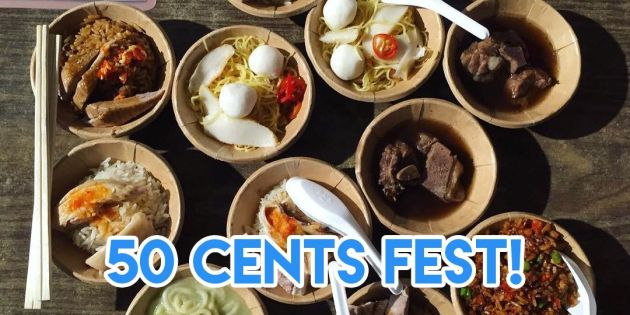 Enjoy 50 Cents Fest - and many other picks - at Singapore Food Festival!