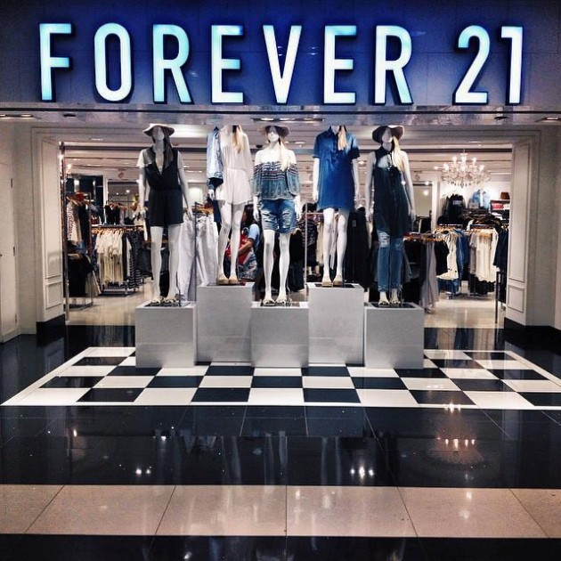 Forever 21 DBS discount