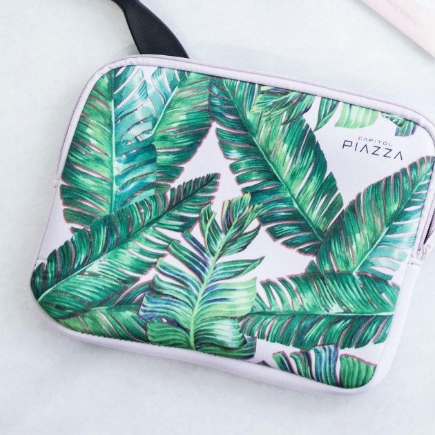 Capital Piazza DBS discounts free summer edition palm tree pouch