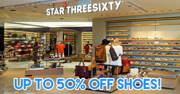 Star 360 up to 50% off shoes