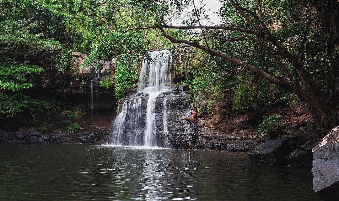 Klong Chao Waterfall in Koh Kood