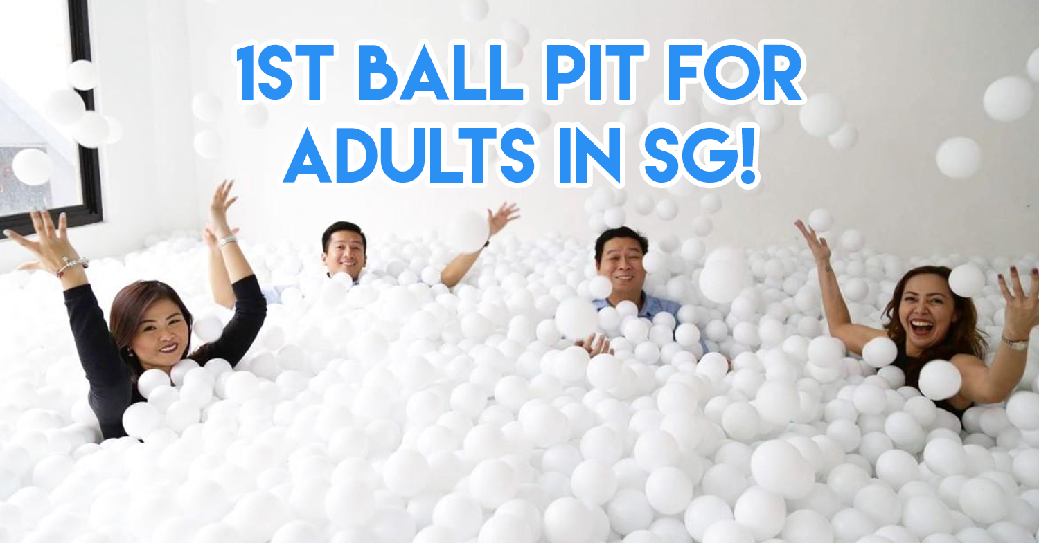 SAFRA's 45th Birthday Bash Has A Giant Ball Pit For Adults And Free Flow Drinks