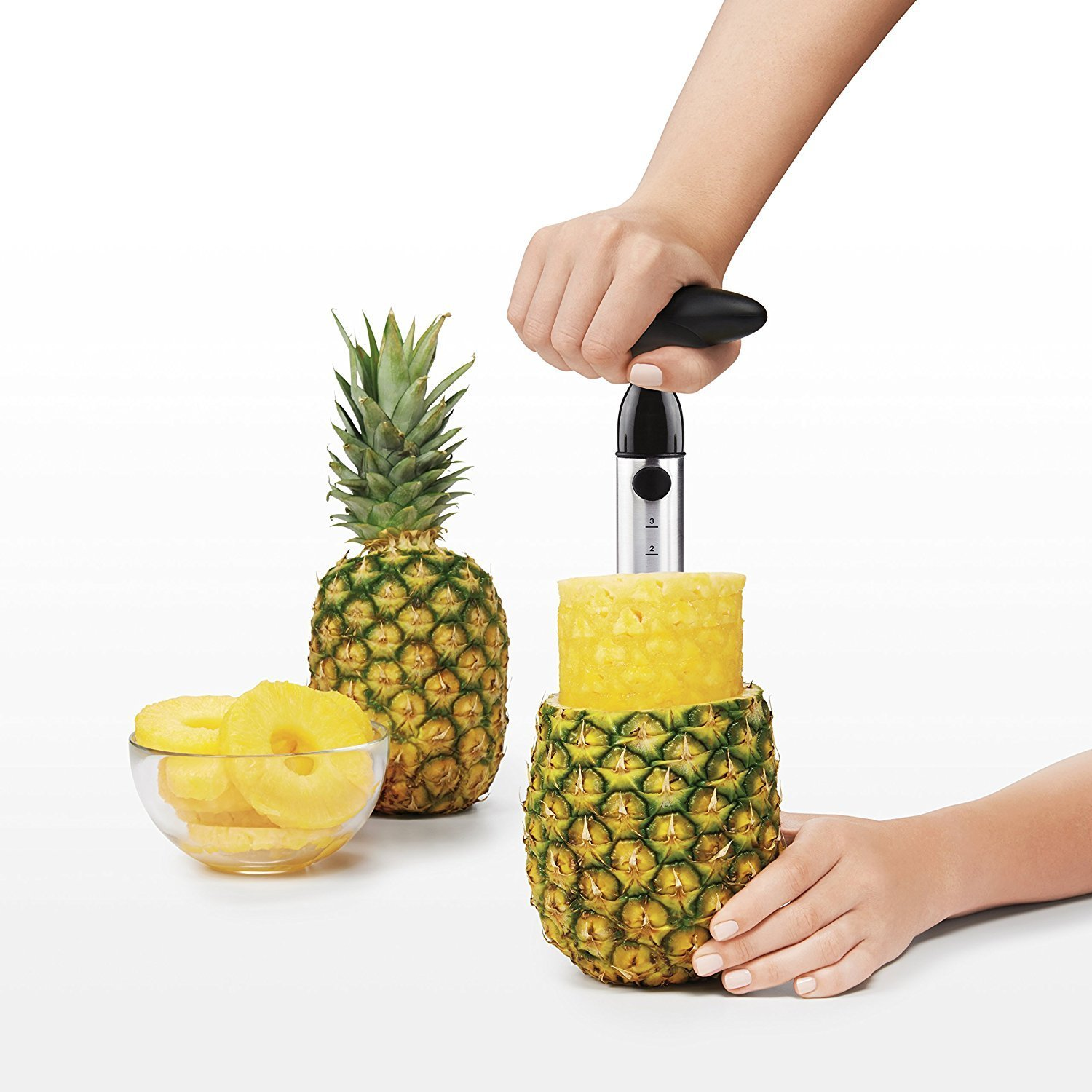 pineapple slicer and de-corer