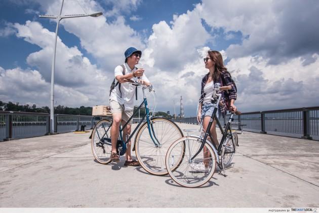 Dating singapore ladies bike