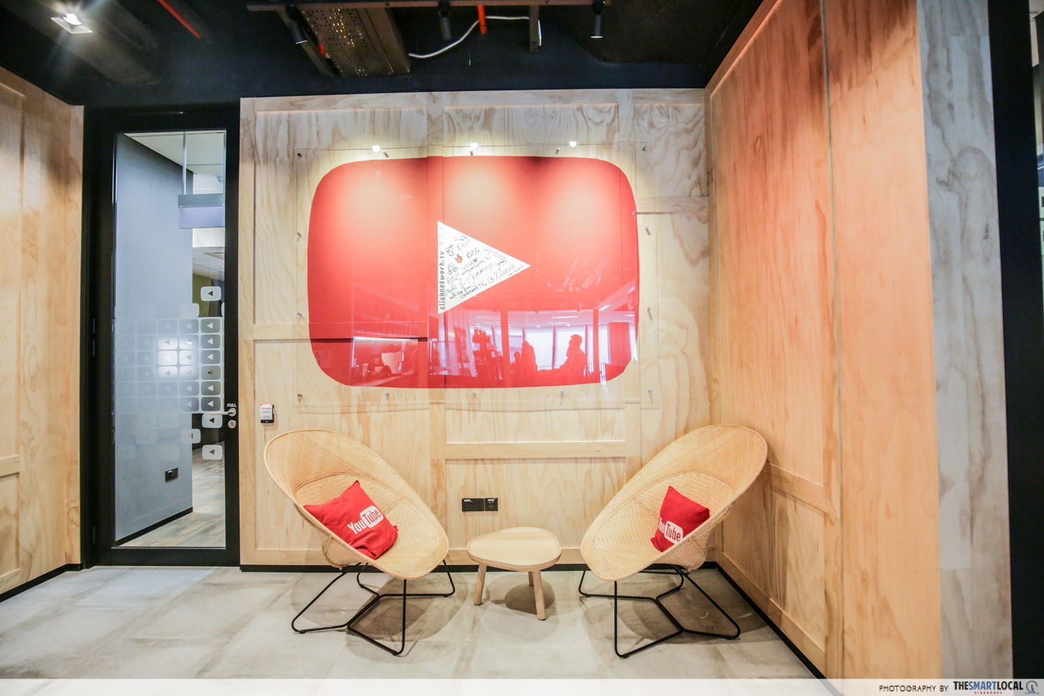 YouTube space in Google office
