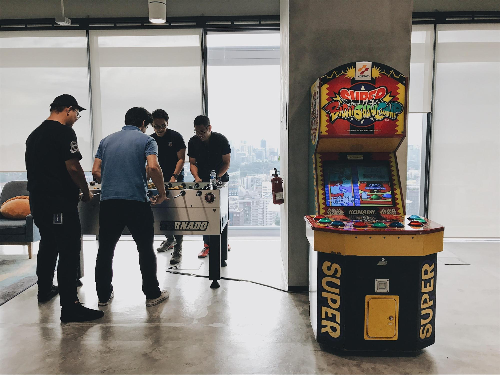 Games at Facebook Singapore office