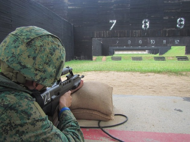 test your marksman skills at the range