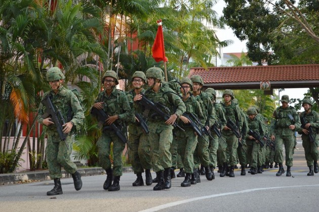 enjoy long walks in tekong