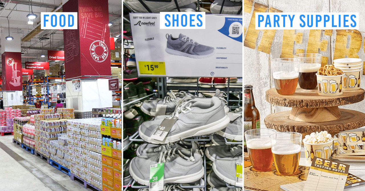 7 Factory Outlets & Wholesale Stores In Singapore To Get