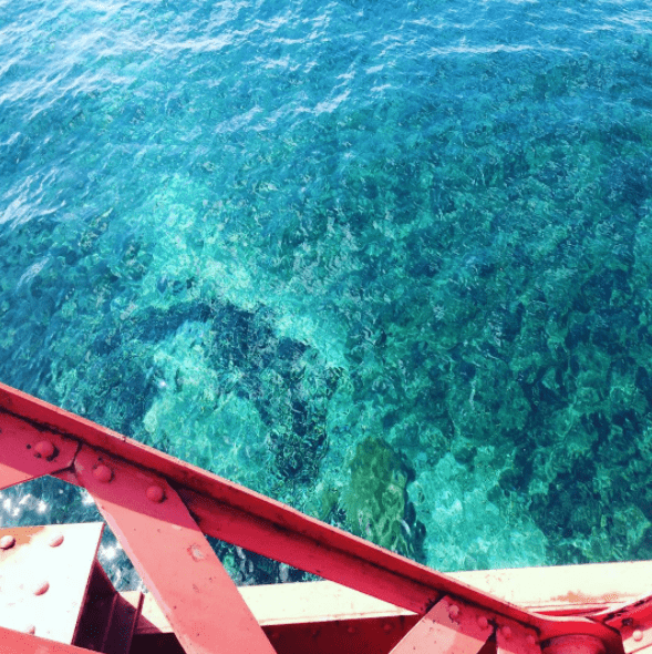clear water of shikotsu lake