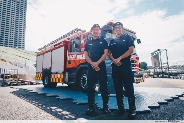 scdf's new hybrid fire-vehicle