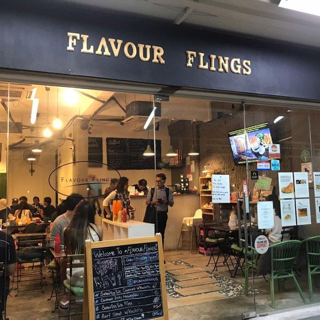 Halal Restaurant Flavour Flings Exterior
