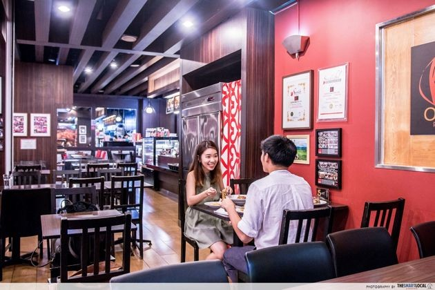Marina square olive vine quiet date place promotion