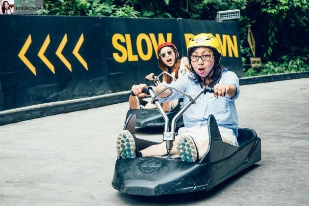 skyline luge sentosa race car promotions july