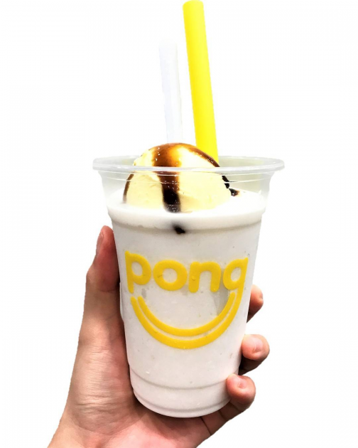 pong smoothie drinks promotion