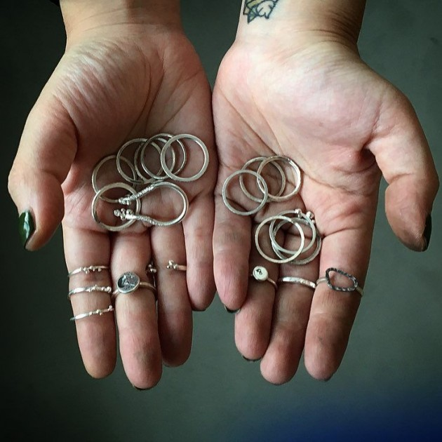 fat anvil studios rings workshop DIY promotions