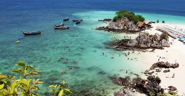 khai islands snorkel thailand