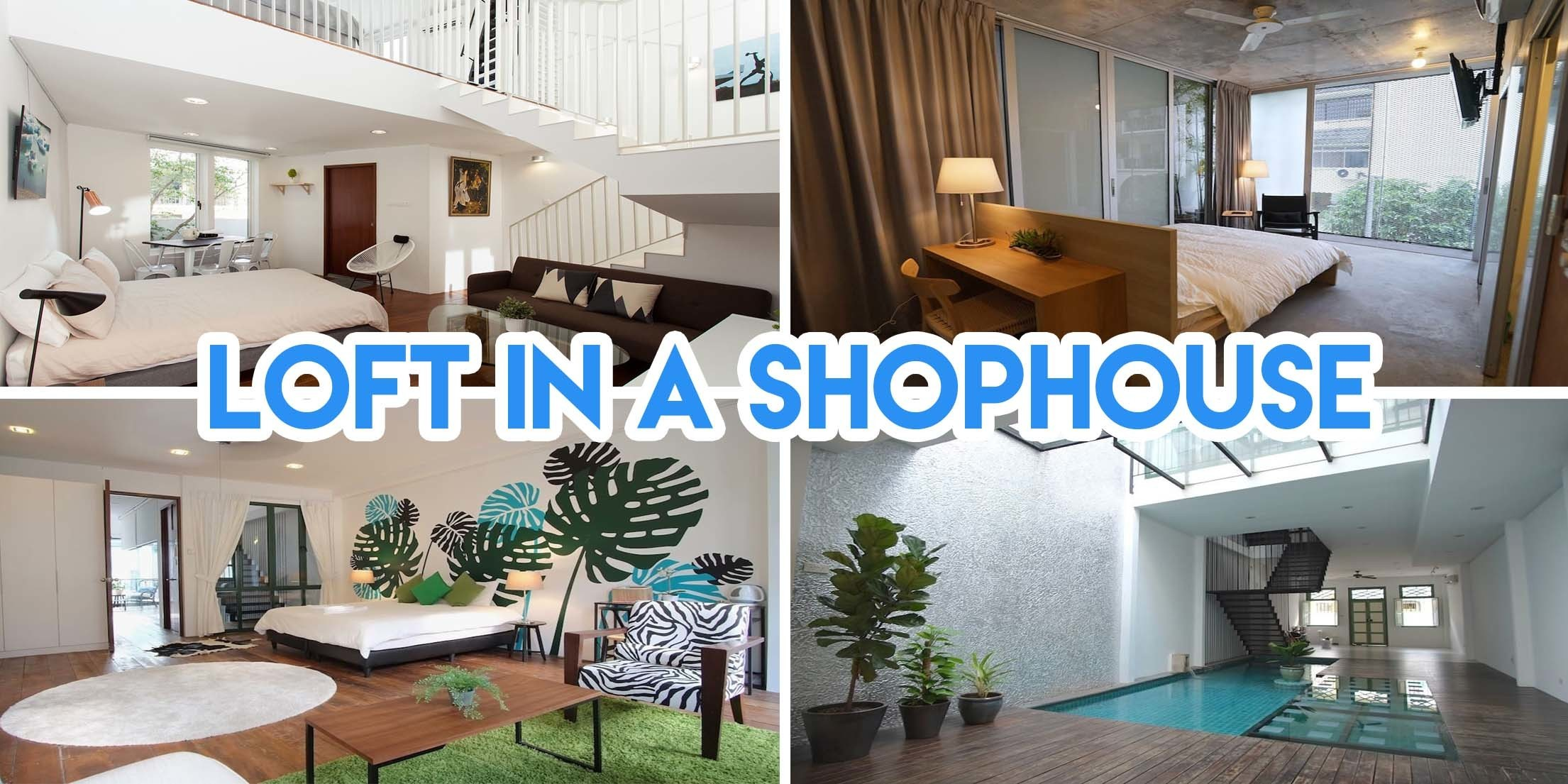 Alternative Secret Staycation loft Geylang shophouse
