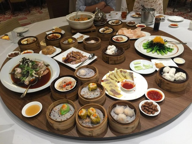 pamper yourself with dim sum and other chinese dishes