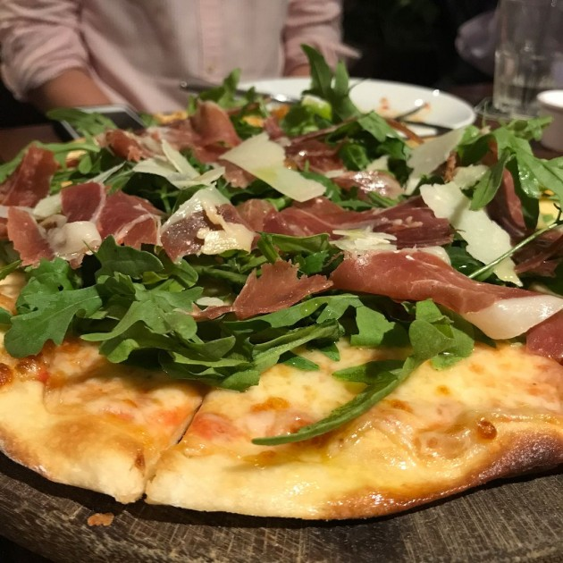 district 10 star vista spanish iberico ham pizza cheap beer