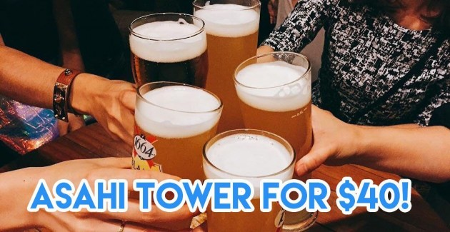 10 Cheapest Beer Towers In Singapore From $35 That Aren't Kopitiam Beer Brands