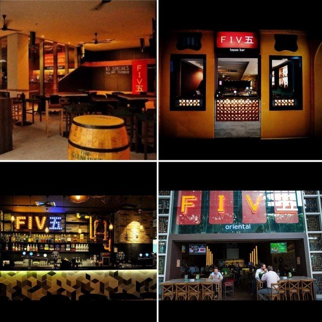 Five bar five izakaya five oriental five square five tapas cheap beer