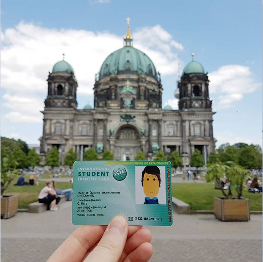 Berlin cathedral isic card