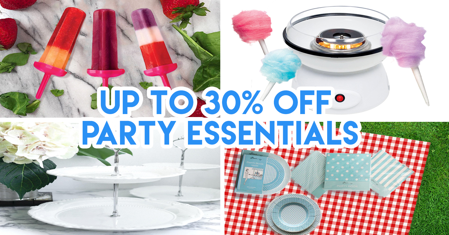 8 Party Supplies In Singapore You Can Order Without Stepping Out Of Your House