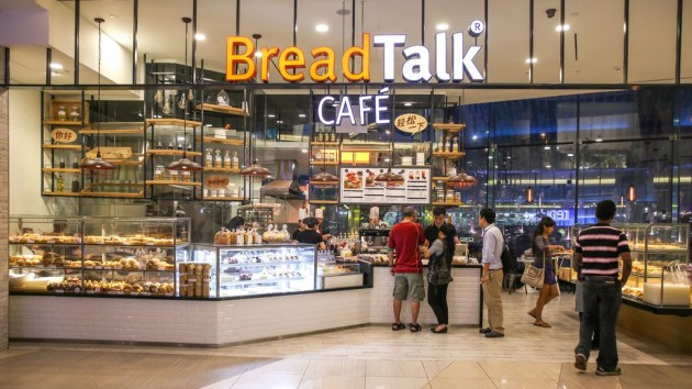 breadtalk cafe