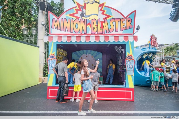 Despicable Me USS Game Booths