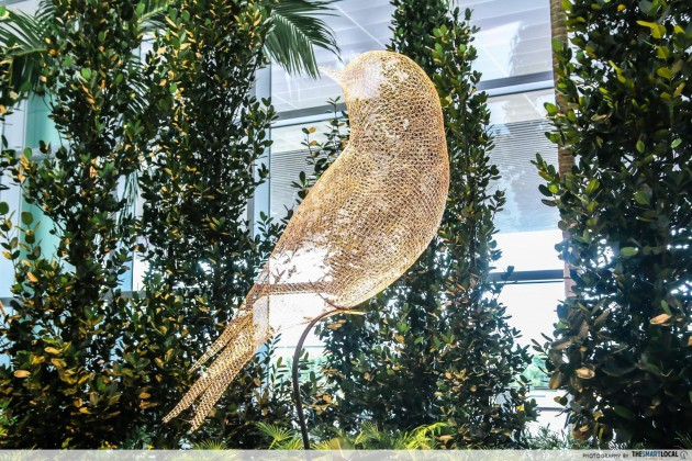 Changi Airport Terminal 4 Les Oiseaux The Bird art installation