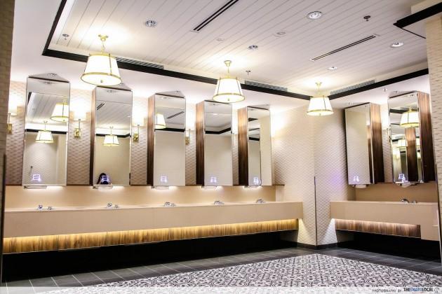 Changi Airport Terminal 4 Heritage Zone toilets