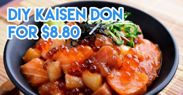Cheap DIY Kaisen don in town