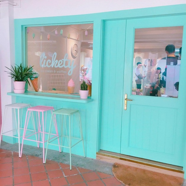 Lickety Cafe Front