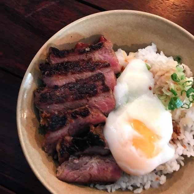 Steak egg Five ten