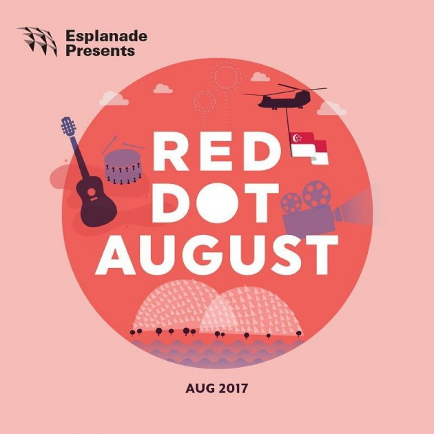 Esplanade NDP august events red dot