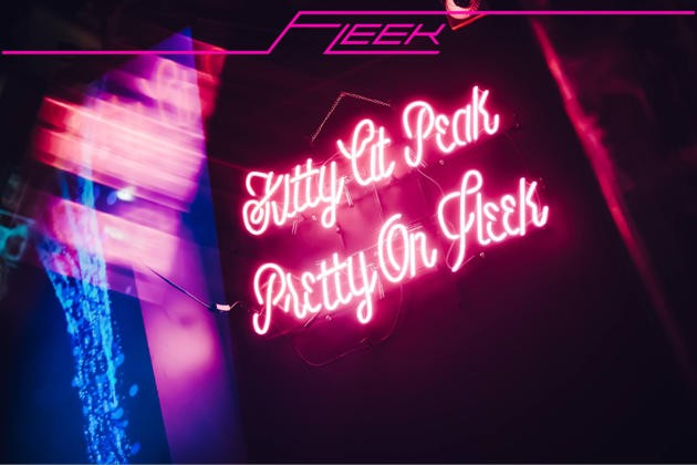 neon signages at fleek