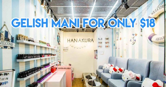Cheap gelish manicures Singapore