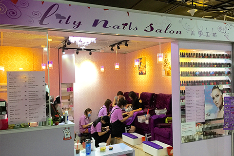 Lily nails salon singapore cheap manicure gelish