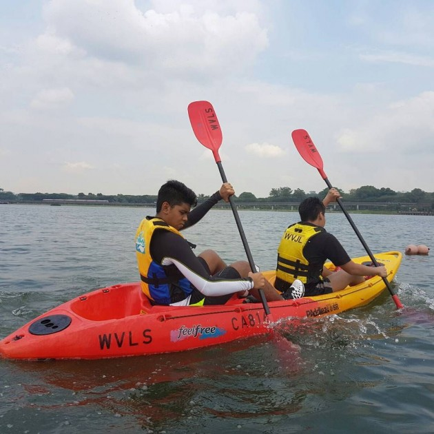 Kayaking Lower Seletar Reservoir Yishun