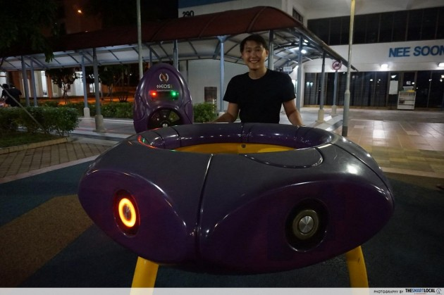 NEOS Light Ring interactive playground game Yishun