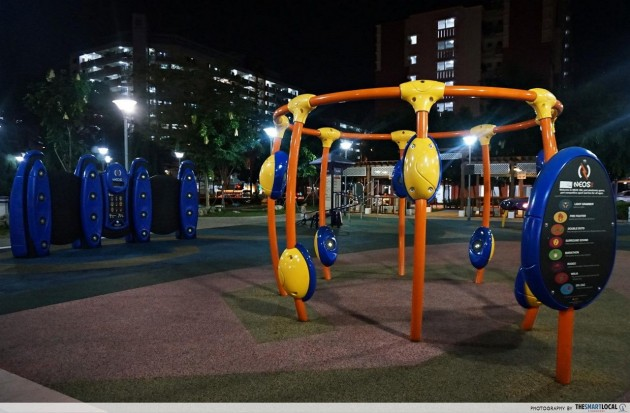 NEOS Light interactive playground game Yishun