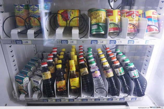 urstore.sg vending machine store soy sauce canned food Yishun