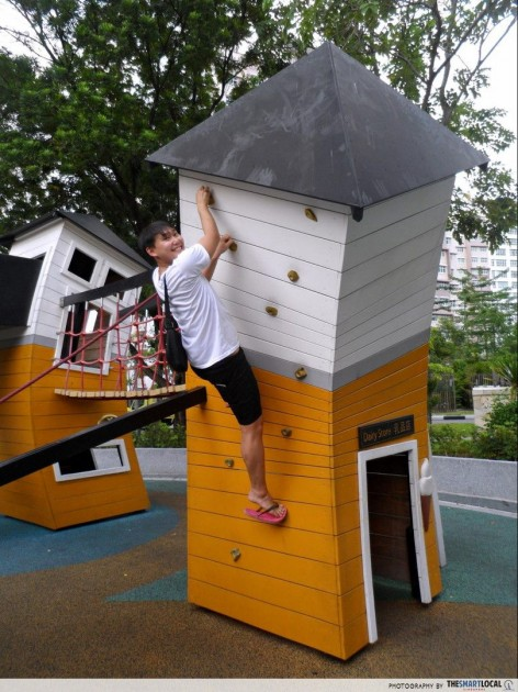 Quirky crooked playground Yishun